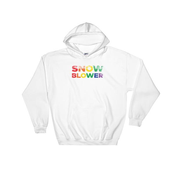 Snow Blower Pride Hoodie