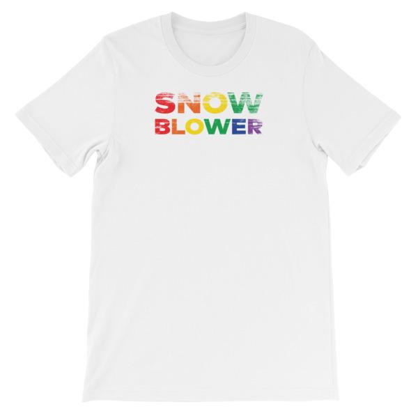 Snow Blower Pride Men's Tee