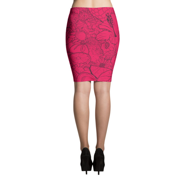 Joia Skirt Pomegranate