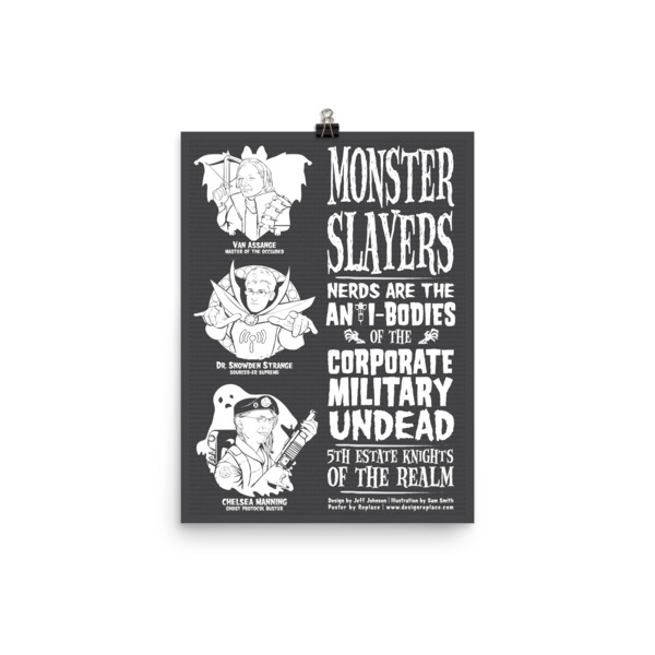 Monster Slayers Poster