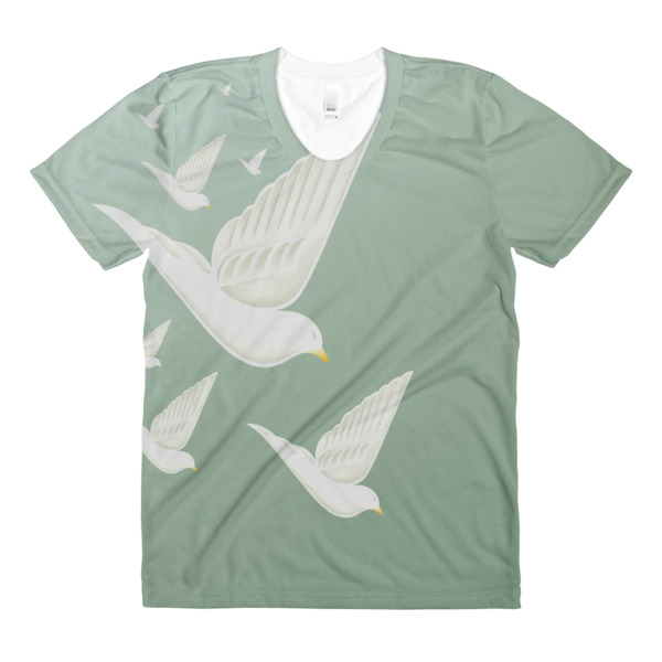 Diving Doves Tee Women