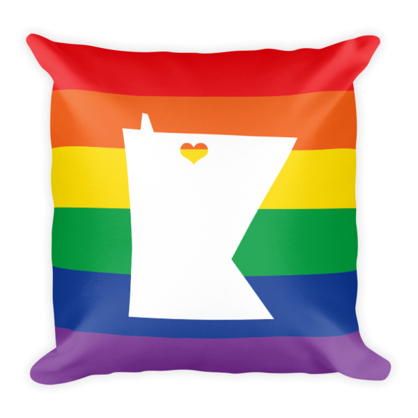 Equal Equals Love Pride Square Pillow