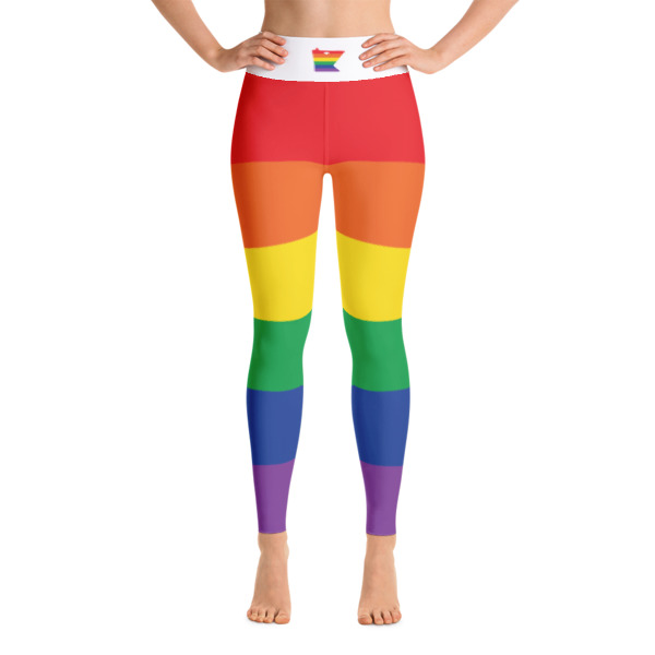 Equal Equals Love Pride Yoga Leggings