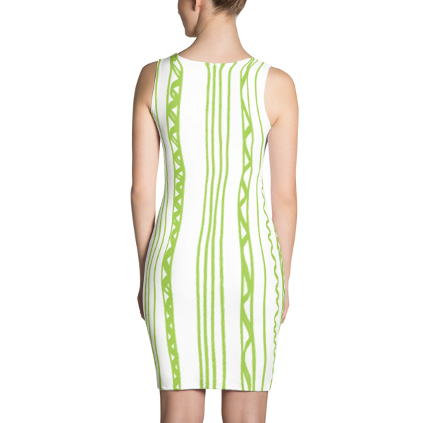 Shapeshifter Dress Stripes