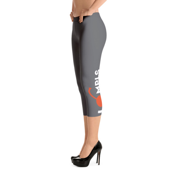 I Cherry MPLS Capri Leggings