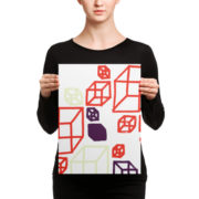 Shapeshifter Poster Canvas Cubes