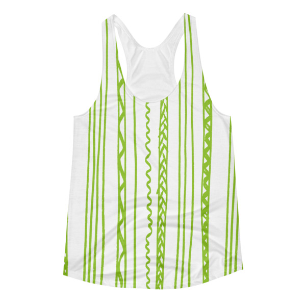 Shapeshifter Tank Women Stripes