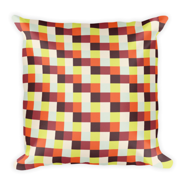 Patterns in the Park Pillow