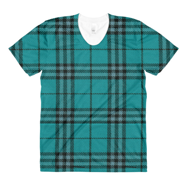 Cabin Cloth Tee Women Plaid