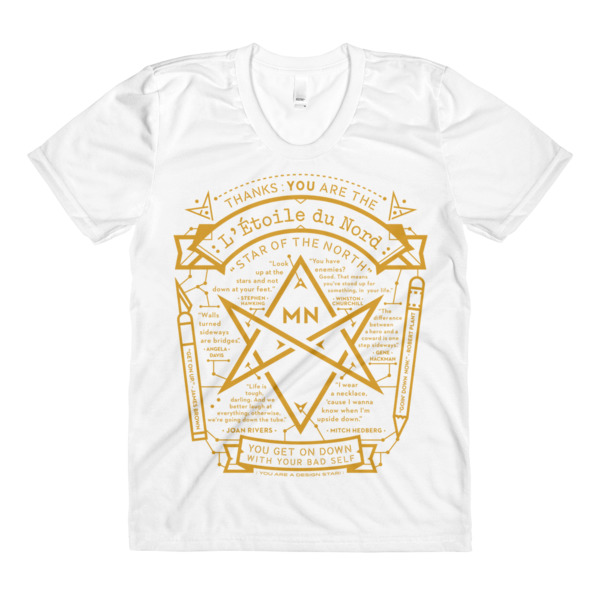 North Star Tee Women White