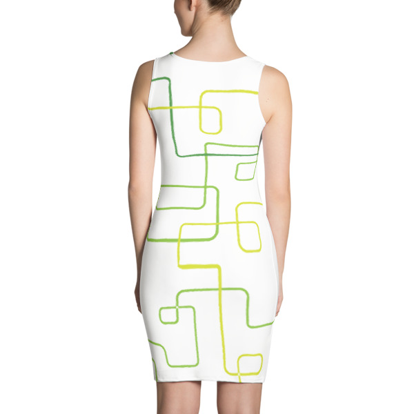 Shapeshifter Dress Squiggles