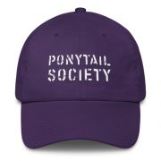 Old Time Hockey Ponytail Society Buckle Hat