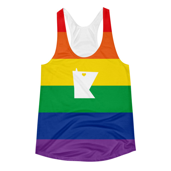 Equal Equals Love Pride All Over Women's Tank