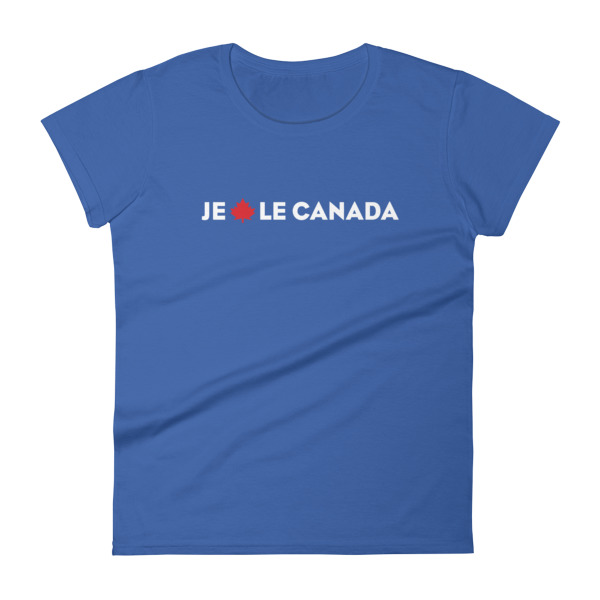 Je Érable le Canada Tee Women