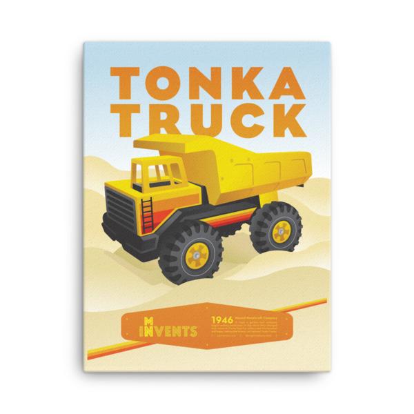 Tonka Truck Poster Canvas