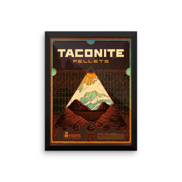Taconite Pellets Poster Framed