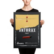 Fast Anthrax Test Poster Canvas