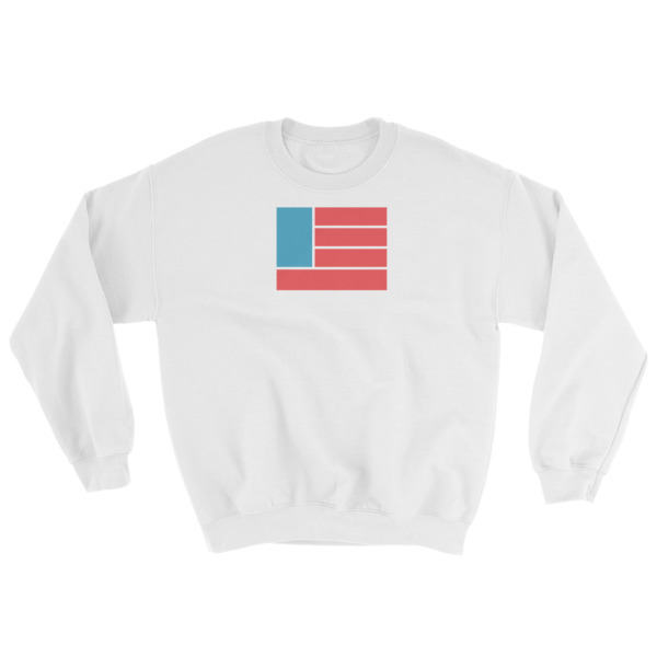 Freedom Fun Flag Crewneck