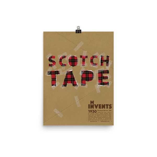 Scotch Tape Poster