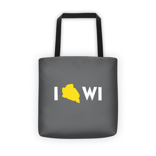 I Cheese Wisconsin Tote