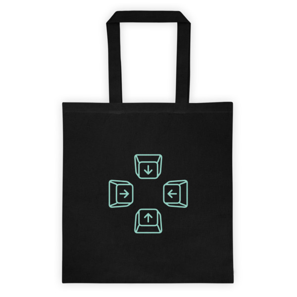 Escape Key Arrows Tote