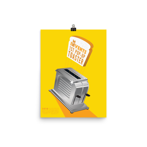 Pop-Up Toaster Poster