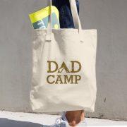 Dad Camp Tote