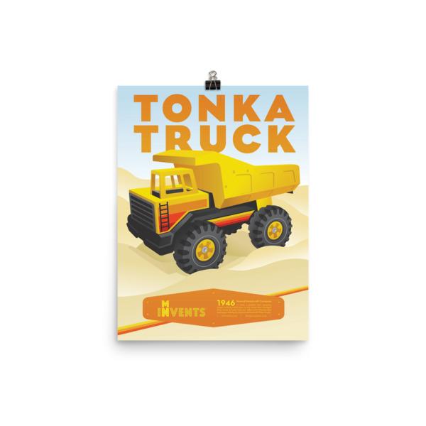 Tonka Truck Poster