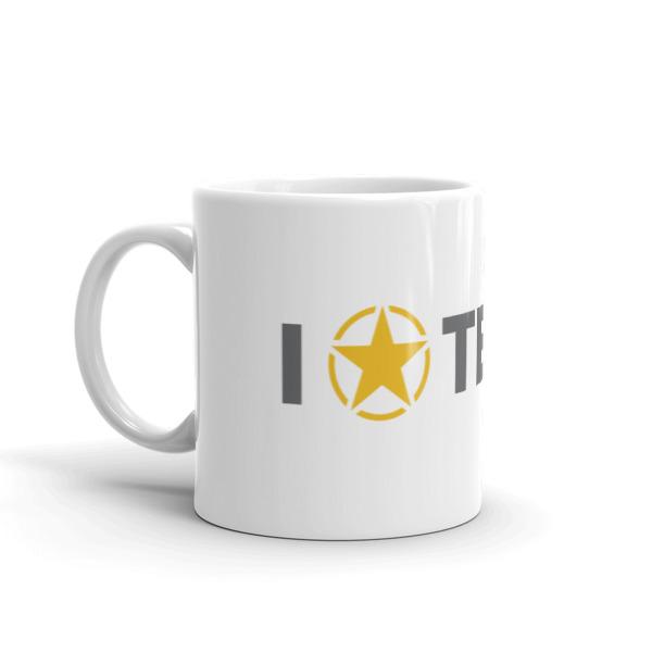 I Lone Star Texas Mug