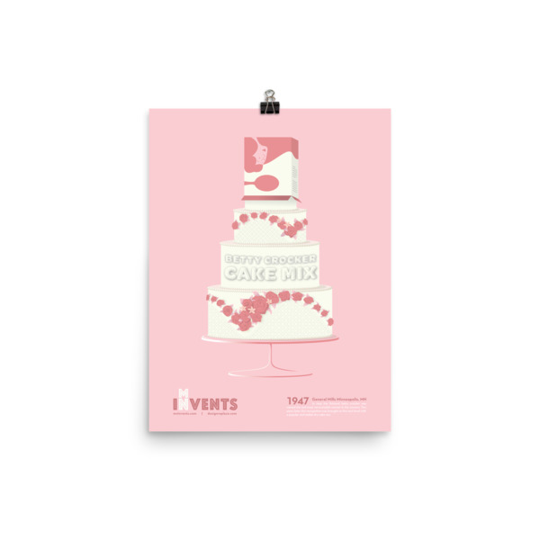 Cake Mix Poster