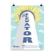 Concrete Grain Elevator Poster