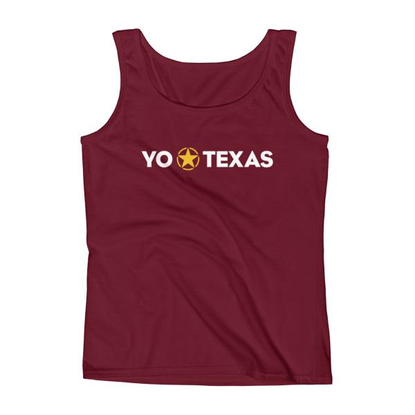 Yo Estrella Solitaria Texas Tank Women