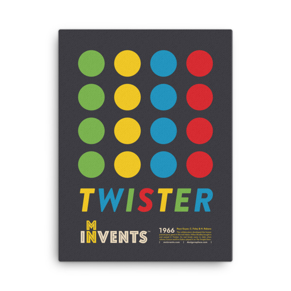 Twister Poster Canvas