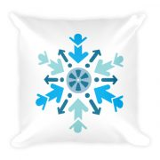 Cool Films Arrow Flake Pillow