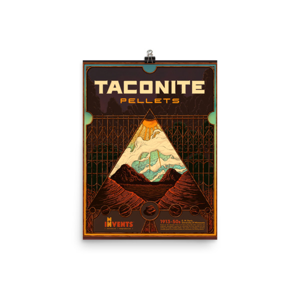 Taconite Pellets Poster
