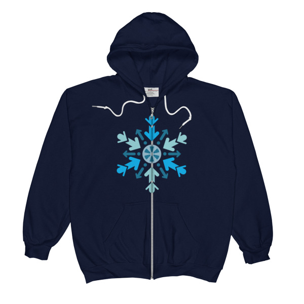 Cool Films Arrow Flake Zip-Up