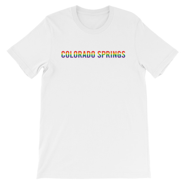 Colorado Springs Pride Tee