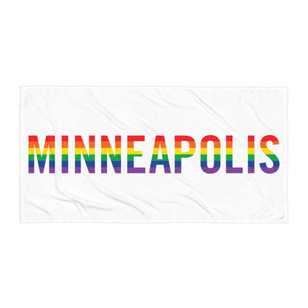 Minneapolis Pride Beach Blanket