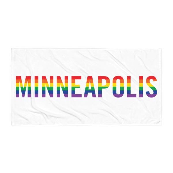 Minneapolis Pride Beach Blanket