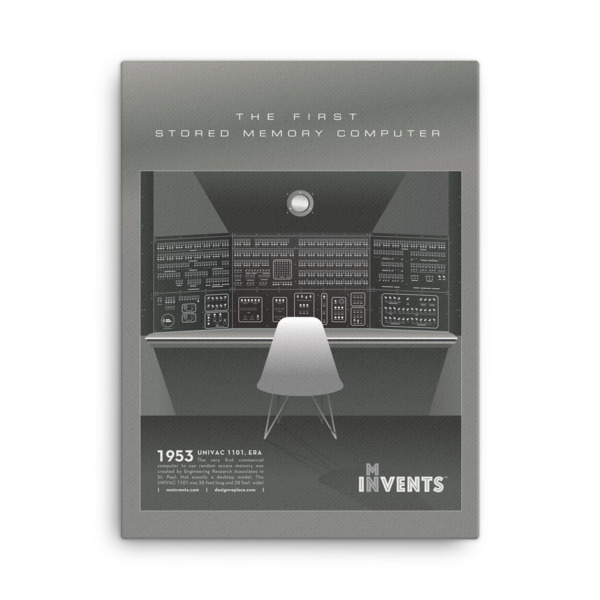 Univac 1101 Poster Canvas