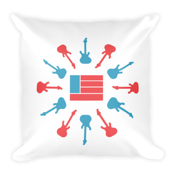 Freedom Fun Combo Square Pillow