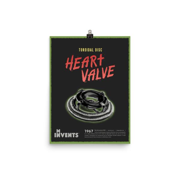 Toroidal Disc Heart Valve Poster