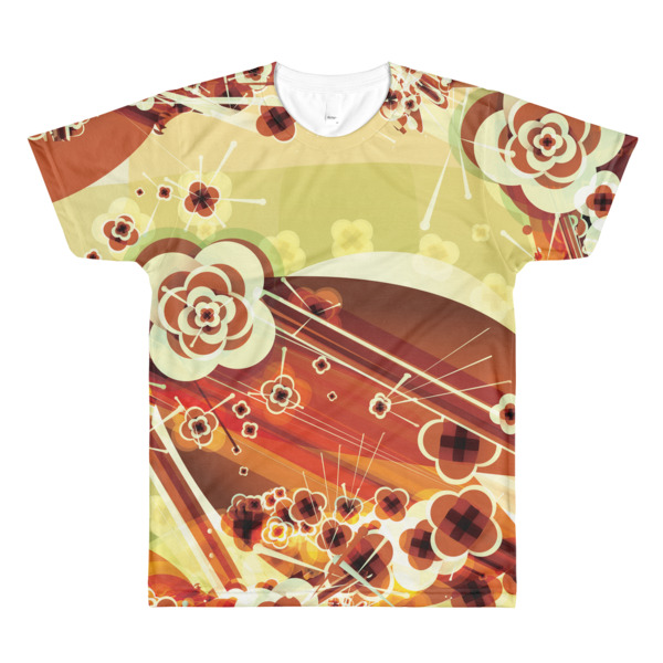 Ukiyo-e Abstract Tee