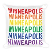 Minneapolis Pride Pillow