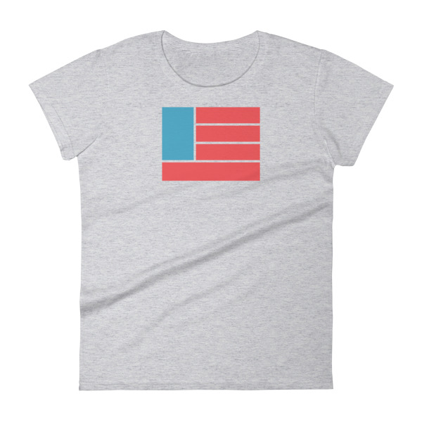 Freedom Fun Flag Women's Tee