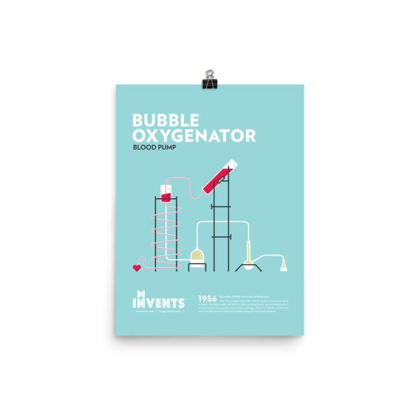Bubble Oxygenator Poster