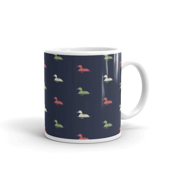 Nokomis Loon Pattern 4 Mug