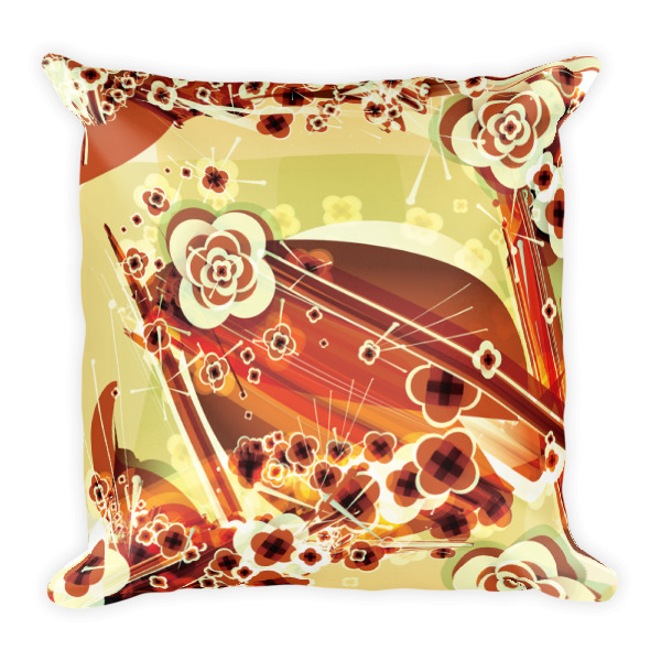 Ukiyo-e Abstract Pillow