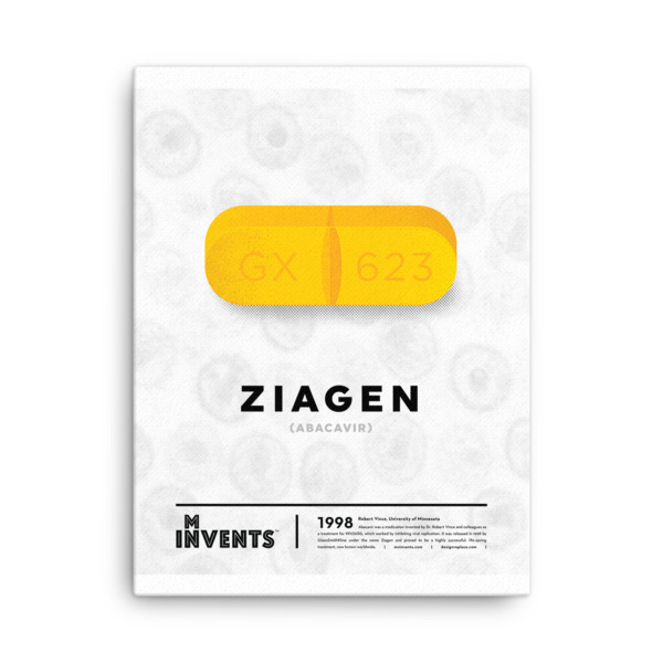 Ziagen Poster Canvas