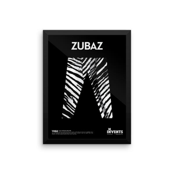 Zubaz Poster Framed